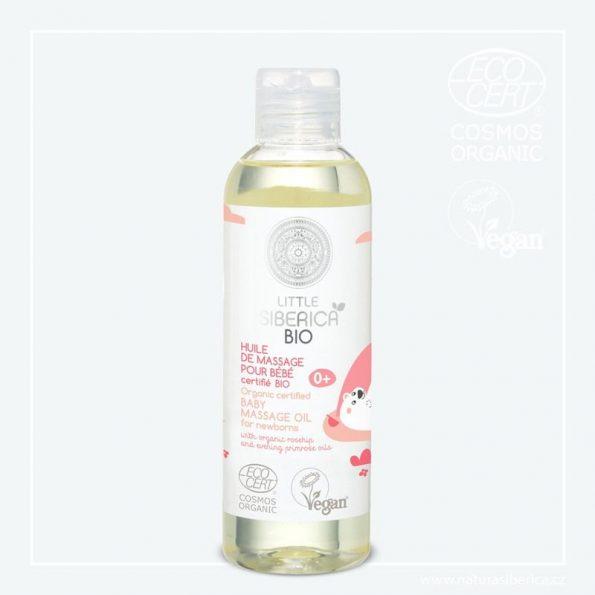 Dětský masážní olej pro novorozence