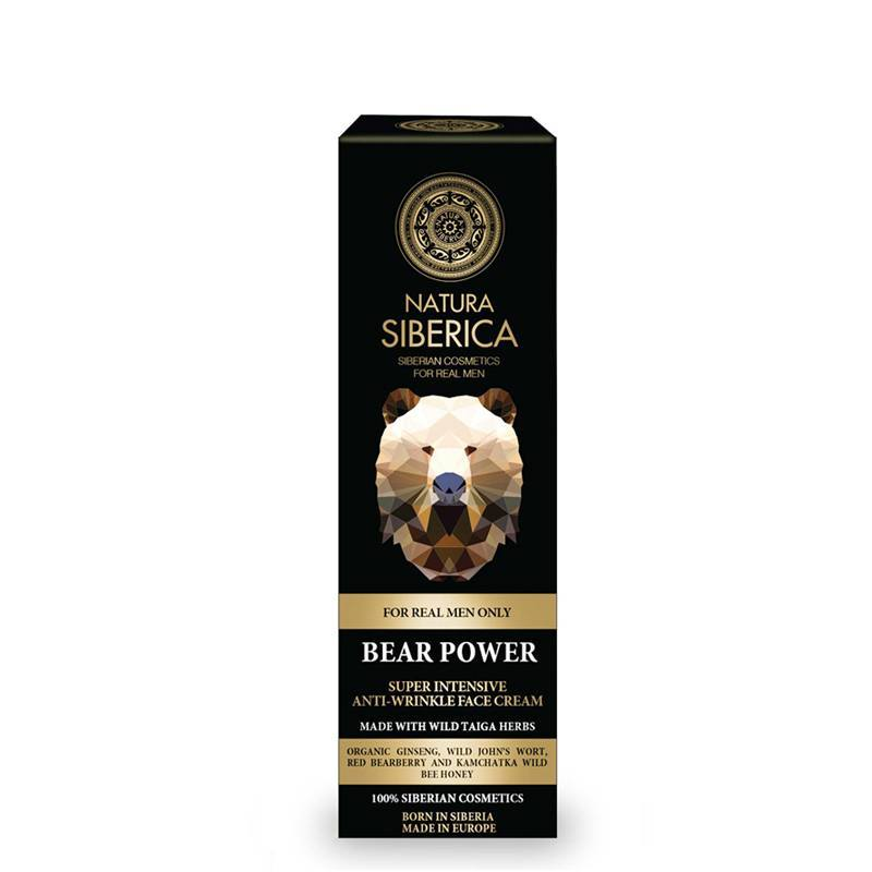 Super intenzivní krém proti vráskám «Medvědí síla»
