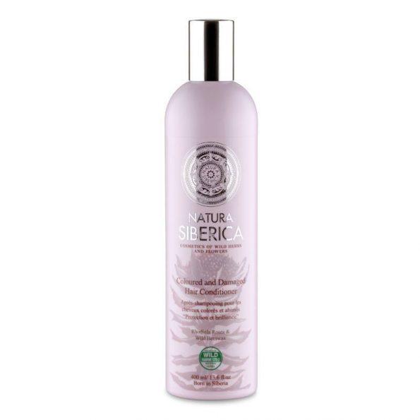 Kondicionér pro barvené a poškozené vlasy «Ochrana a lesk»
