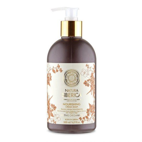Krémové mýdlo «Vyživující»