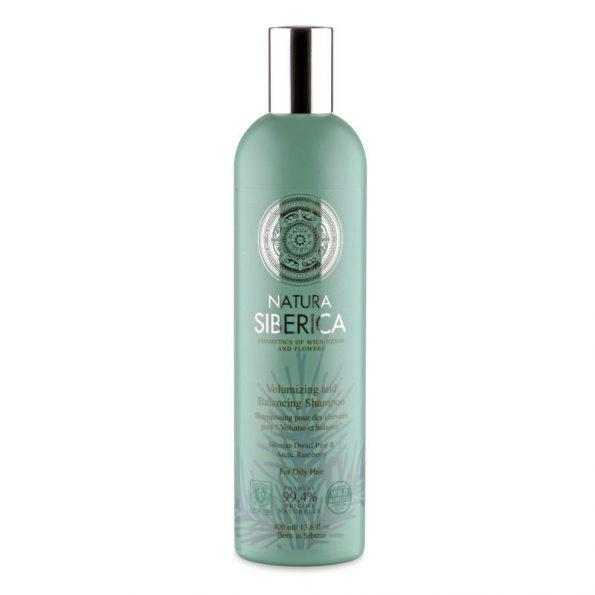 Šampon pro mastné vlasy «Objem a bilance»