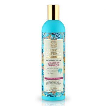 Rakytníkový šampón pro normální a mastné vlasy «Hloubkové očištění a péče»
