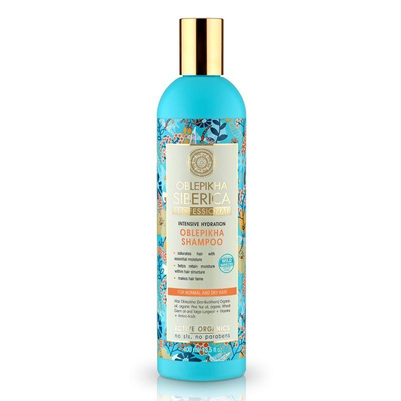 Rakytníkový šampón pro normální a suché vlasy «Intenzivní hydratace»